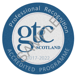 Professional Recognition - Quality Mark - SAMPLE